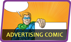 ADVERTISING COMIC